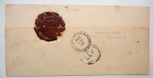 russia-1892-mailing-wrapper-cathedral-seal-possibly-estonia