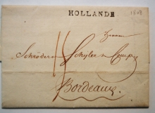 holland-1808-stampless-folded-letter-to-bordeaux-france