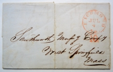 richmond-virginia-1850-stampless-folded-letter-with-10-attached-rate