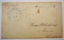 milledgeville-georgia-1852-stampless-folded-letter-with-paid-3-cts-mark