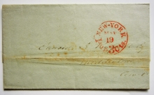 new-york-city-1853-stampless-folded-letter-to-middletown-connecticut