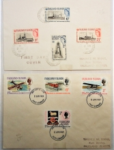 falkland-islands-1964-and-1969-first-day-covers