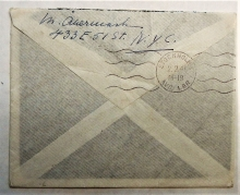 new-york-city-1941-cover-to-sweden-with-scott-#c-24-stamp