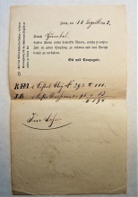 zurich-switzerland-1843-customs-inspection-mark-on-form-for-goods-to-wohlen
