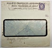 paris-france-1941-world-war-II-censor-cover
