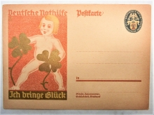 germany-mint-circa-1910-good-luck-postal-card