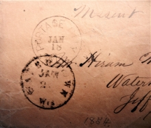 wisconsin-portage-city-and-watertown-missent-stampless-postal-history-cover