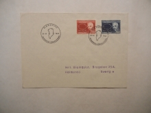 narssaq-greenland-niels-bohr-first-day-cover-scott-66-67