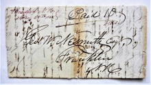 bradford-new-hampshire-1845-stampless-folded-letter-manuscript-postmark-to-franklin-nh