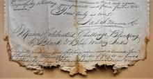 philadelphia-pennsylvania-1851-stampless-folded-letter-postal-history-to-alexandria-virginia