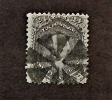 united-states-scott-#70-used-fancy-cancel-stamp