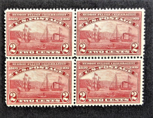 united-states-scott-#372-mint-never-hinged-block-of-four-stamps