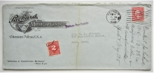 detroit-michigan-1915-advertising-postal-history-cover-with-perfin-stamp