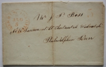 washington-city-dc-1845-stampless-folded-letter-to-philadelphia