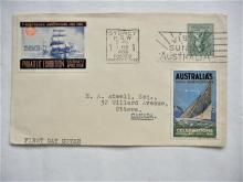 sydney-australia-1938-scott-#171a-first-day-cover-sidney-philatelic-expositon