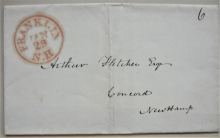 franklin-new-hampshire-stampless-folded-letter-to-concord-lawyer-arthur-fletcher