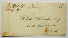 stratford-connecticut-1848-manuscript-stampless-folded-letter