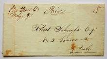 stratford-connecticut-1848-manuscript-stampless-folded-letter