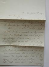 taunton-massachusetts-1847-stampless-folded-letter-to-providence-ri-wonderful-letter