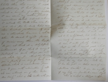 taunton-massachusetts-1847-stampless-folded-letter-to-providence-ri-wonderful-letter