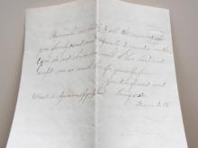 AGAWAM MASSACHUSETTS1859 COVER AND RELIGIOUS-THEME LETTER. SCOTT #25 STAMP - POSTAL-HISTORY