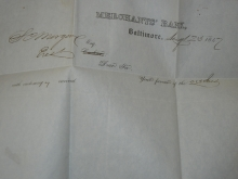 baltimore.merchants.bank.morgan.and.trumbull.stampless.folded.letters