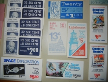 STAMP COLLECTIONS - US BOOKLET PANE GROUP -- AIRMAILS, REGULAR ISSUES, COMMEMORATIVES