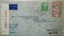 california+clipper+postal+history+sidney+australia+boston+censor