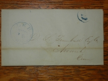 lee.massachusetts.trumbull.1846.stampless.folded.letter.to.norwich.connecticut.unlisted.rate