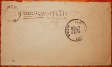 RARE BARR-FYKE RECEIVER POSTMARKS ON COVERS TO MISSIONARYS