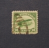 U. S. AIRMAIL STAMP SCOTT C-2 USED - PHILATELIC STAMP