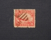 U. S. AIRMAIL STAMP SCOTT C-6 USED - PHILATELIC STAMP