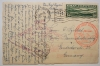 Zeppelin-flight-postcard-Lakehurst-Friedrichshafen-to-Lakehurst-postal-history-flight-1930-with-C-13-stamp