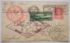 Zeppelin-flight-postal-card-Lakehurst-Friedrichshafen-to-Lakehurst-postal-history-flight-1930-with-C-13-stamp