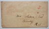 railroad-stampless-cover-boston-&-albany-red-postmark-on-postal-history-stampless-cover-to-coventgry-ri