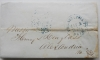 philadelphia-pennsylvania-1851-stampless-folded-letter-postal-history-to-alexandria-virginia