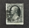 united-states-scott-#154-used-stamp-with-partial-fancy-cancel
