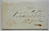 albany-new-york-1835-stampless-folded-letter-to-new-york-city