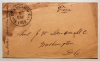 California-San-Francisco-1856-stampless-cover-with-content-probable-earliest-known-use