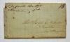 Bufords Bridge South Carolina 1848 manuscript postmark stampless folded letter to Franklin New Hampshire