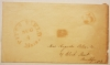 PITTS FIELD (PITTSFIELD) MASSACHUSETTS STAMPLESS ENVELOPE - POSTAL-HISTORY