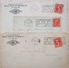 ST. LOUIS MISSOURI - 3 1903 WORLD'S FAIR CANCELATION COVERS - WORLDS-FAIR-POSTAL-HISTORY