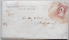 AGAWAM MASSACHUSETTS1859 COVER AND RELIGIOUS-THEME LETTER. SCOTT #25 STAMP - POSTAL-HISTORY