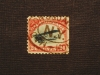 U. S. AIRMAIL STAMP SCOTT C-3 USED - PHILATELIC STAMP