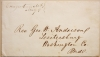 CREAGERSTOWN MARYLAND STAMPLESS COVER - UNLISTED IN ASCC