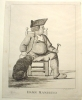 c. 1770 DAMN MAMBRINO ETCHING NO. 4731 - ART. ENGLISH ETCHINGS