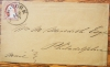 NEW YORK CITY SCOTT #11 ON COVER FULL POSTMARK -POSTAL HISTORY