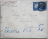 PEEKSKILL NEW YORK 1898 COVER WITH 5-CENT TRANS-MISSISSIPPI STAMP (SCOTT 288) - POSTAL-HISTORY