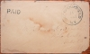 SO. BROOKFIELD NEW YORK STAMPLESS FOLDED COVER UNLISTED IN ASCC - POSTAL HISTORY
