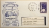 NEW YORK WORLD'S FAIR RAILWAY POST OFFICE CAR EXHIBIT LAST DAY OF SERVICE COVER WITH INSERT 1940 - POSTAL-HISTORY